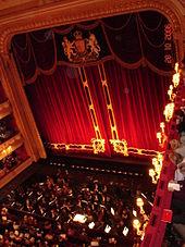 interior of grand nineteenth century theatre