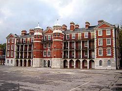L'ancien Royal Army Medical College.