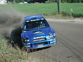 Richard Burns en Finlande 2001