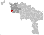 Rumes Hainaut Belgium Map.png