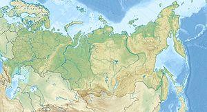 Voir la carte Russie topographique