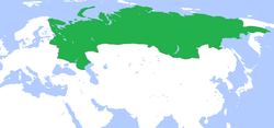 Ubicación de Rusia