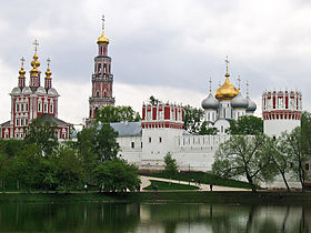Novodevichy Convent in summer.
