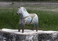 Rytter Olof Matsson Dala Horse