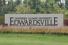 SIUE Entry Sign