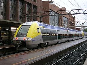 La Z 27526 du TER Bourgogne en gare de la Part-Dieu.