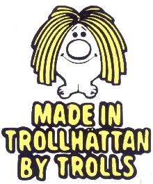 Saab Troll Sticker