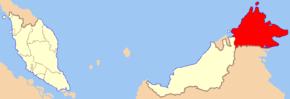 Carte  de l'État