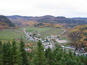 Sainte-Rose-du-NordLocalisation de Sainte-Rose-du-Nord dans la MRC Le Fjord-du-Saguenay