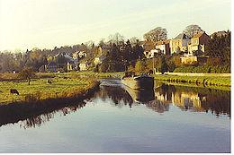 La Sambre à Merbes-le-Château.