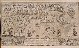 Map of New France 1612