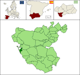Localisation de San Fernando