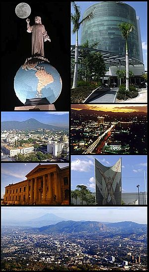La ciudad de San Salvador