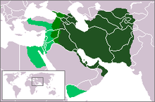 Extents of the Sassanid Empire