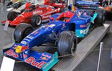 Photo de la Sauber C18 de Jean Alesi.