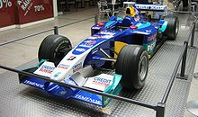 Photo d'une Sauber C22 engagée en 2003.