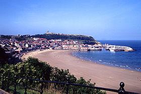 Une vision de la ville, montrant le bord de mer