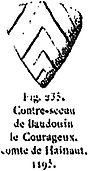Contre-Sceau de Baudouin V
