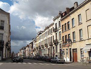 La rue Rubens à Schaerbeek