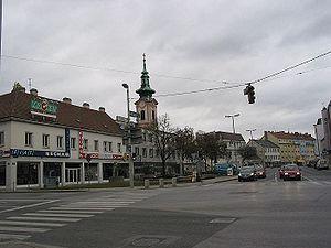 Place principale de Schwechat en 2007