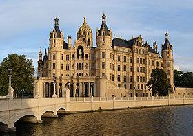 Schweriner Schloss (parliament of Mecklenburg-Vorpommern)