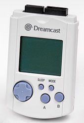 An image showing a video game peripheral for Sega's Dreamcast console.