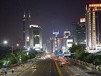 Shenzhen night street.JPG