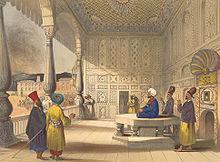 Shuja Shah Durrani of Afghanistan in 1839.jpg