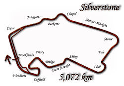 Silverstone Circuit (as modified in 1996)