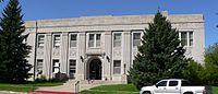 Sioux County, Nebraska courthouse from E.JPG