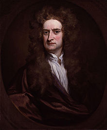 Sir Isaac Newton  Ritratto di Sir Godfrey Kneller, 1702, olio su tela
