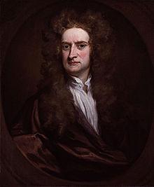 Sir Isaac Newton  Ritratto di Sir Godfrey Kneller, 1702, olio su tela