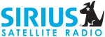 Sirius Satellite Radio logo, used since 2003