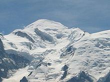 Photographie du mont Blanc vu du Brévent