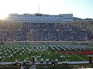 Sonny Lubick Field at Hughes Stadium-October28,2006 -CSUvNM.jpg
