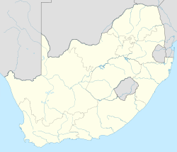 Vereeniging is located in South Africa