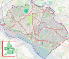 Swaythling is located in Southampton