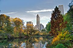 Southwest corner of Central Park, looking east, NYC.jpg