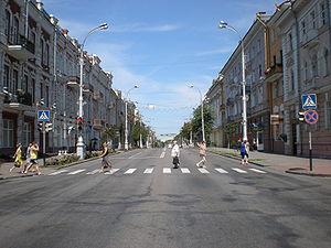 Sovetskaya str. (Gomel).JPG