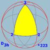 Sphere symmetry group d3h.png