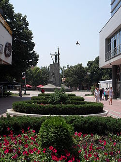 Le centre ville de Kraljevo