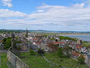 St Andrews from Regulus tower - geograph.org.uk - 254003.jpg