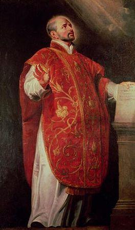 Portret door Peter Paul Rubens.