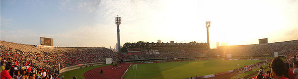 Closing ceremony for the National Stadium