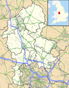 Tamworth is located in Staffordshire