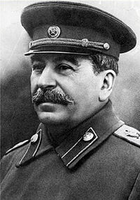 A man with a thick moustache wearing a military tunic and cap