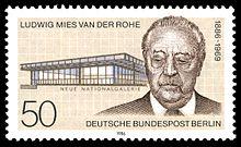Image illustrative de l'article Ludwig Mies van der Rohe