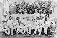 Formal group shot of men