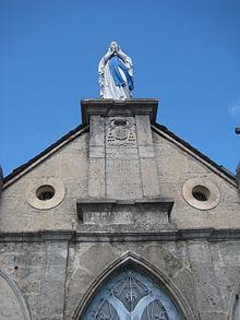 Statue Notre-Dame du Rocher
