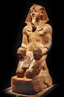 Statue of Amenhotep II from the Museo Egizio.jpg